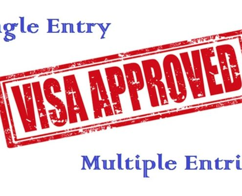 single entry or multiple entries visa to Vietnam