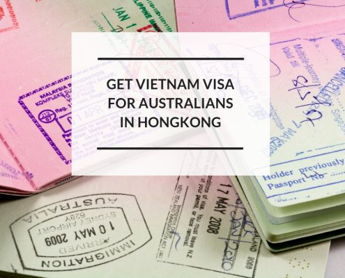 how to get Vietnam visa for Australians in Hong Kong
